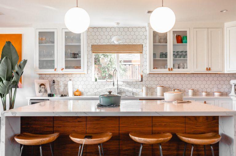 A clean kitchen